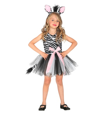 ZEBRA (tutu dress, headpiece) Childrens