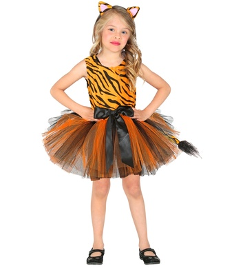 TIGER (tutu dress, headpiece) Childrens