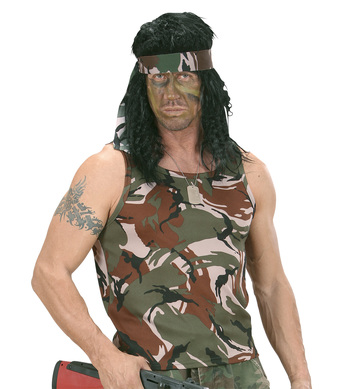 CAMOUFLAGE SLEEVELESS SHIRT