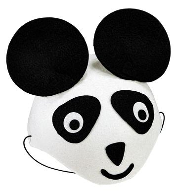 felt PANDA CAP