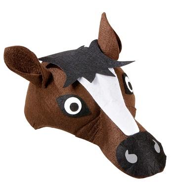 felt HORSE CAP