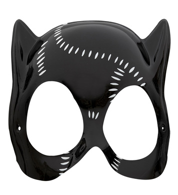 CATWOMAN MASK PLASTIC