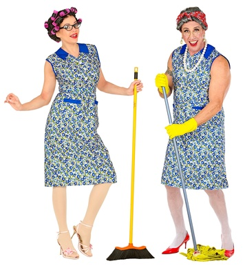 HOUSEWIFE / CLEANER COSTUME (dress)