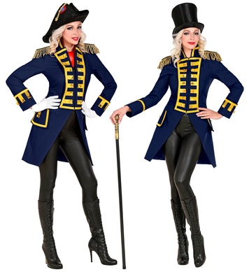 BLUE PARADE TAILCOAT for woman