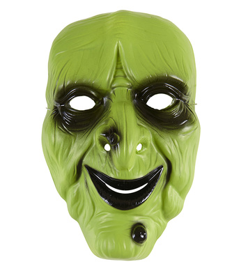 PVC WITCH MASK