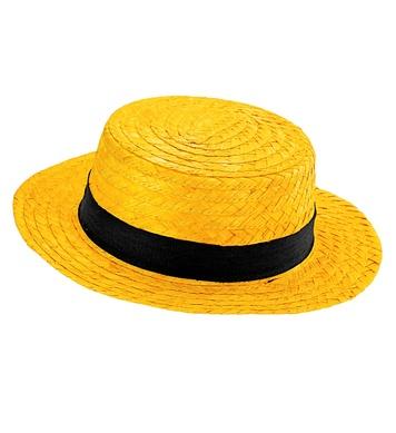 DELUXE YELLOW CHEVALIER HAT