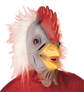 COCKERAL MASK WITH PLUSH HAIR