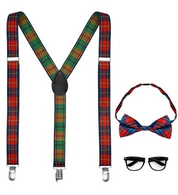 NERD (braces, bow tie, glasses)