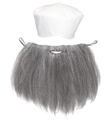 ARAB (turban & beard)