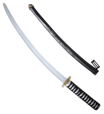 JAPANESE KATANA W/SCABBARD 80cm