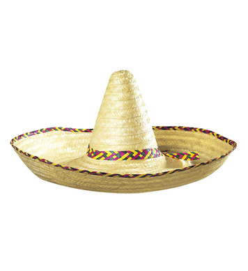 GIANT SOMBRERO DECORATED 65cm