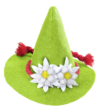 BAVARIAN MINI HAT - GREEN