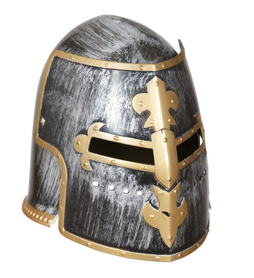 MEDIEVAL WARRIOR HELMET WITH VISOR