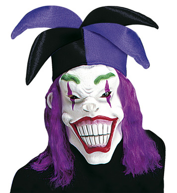 JOKER MASK W/HAT AND WIG