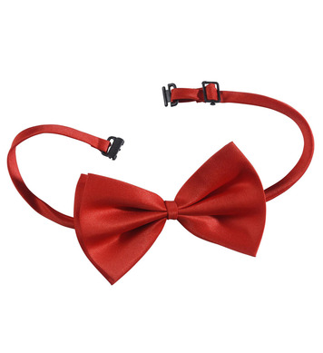 BOW TIE ADJUSTABLE DELUXE - RED