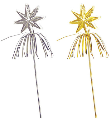 FAIRY WAND - silver/gold