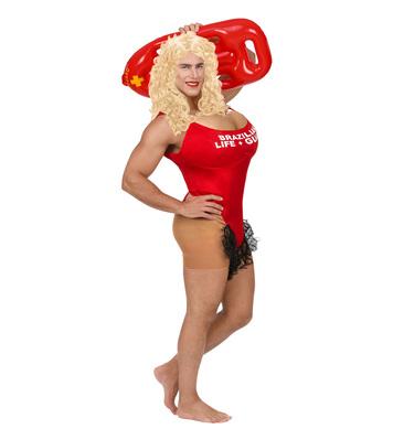 CALIFORNIA LIFE GUARD(hairy costume w/oversized boobs)