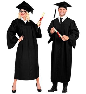 GRADUATE (gown, hat)