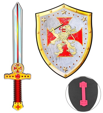 CRUSADER SWORD & SHIELD suitable for child SOFT EVA FOAM