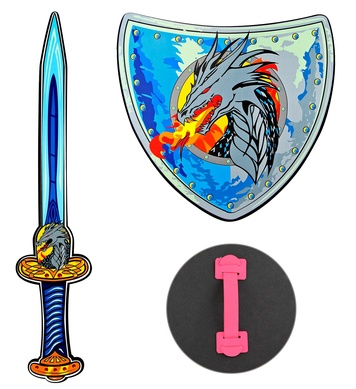 DRAGON VIKING SWORD & SHIELD suitable for childSOFT EVA FOAM