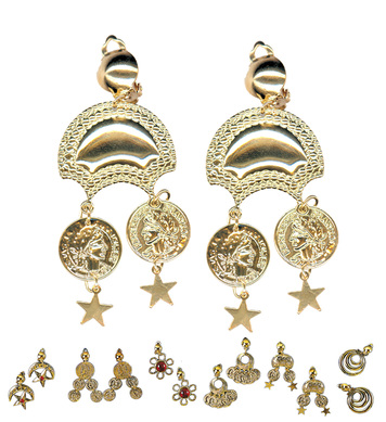 GIPSY EARRINGS PAIR - 6 styles