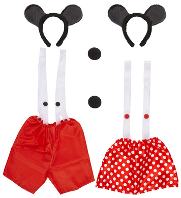 MOUSE DRESS UP SET - 2 styles