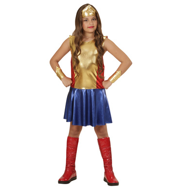 WONDER GIRL (dress headpiece cuffs) Childrens