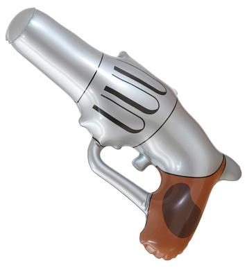INFLATABLE COWBOY GUN - 29cm