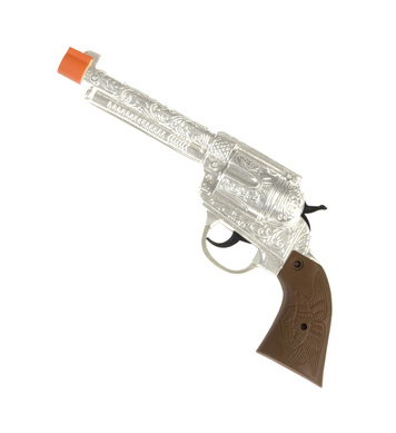 COWBOY GUNS SILVER