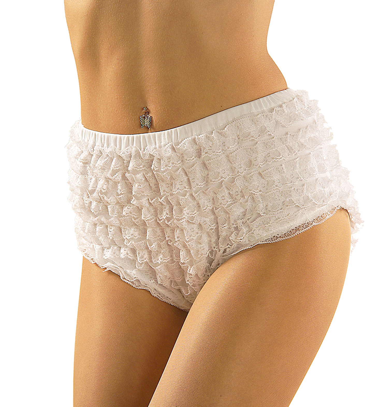 Lace Panties Trouser Pants Cowboy Wild West Fancy Dress
