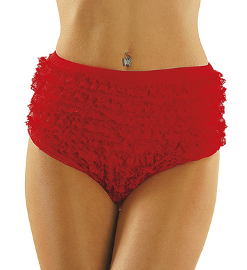 LACE PANTIES RED - small/medium/large