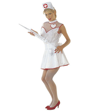 NURSE COSTUME (dress belt headpiece)