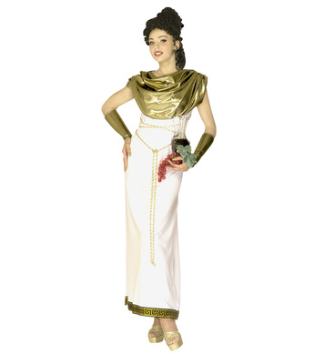 GREEK GODDESS COSTUME (dress collar belt armbands)