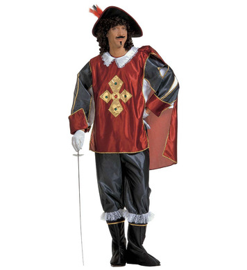 MUSKETEER (coat cape pants boot covers hat)