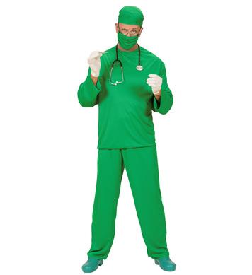 SURGEON COSTUME (coat pants cap face mask)
