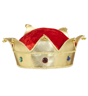 KING & QUEEN CROWN WITH GEMS