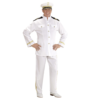 CAPTAIN COSTUME (jacket pants hat)