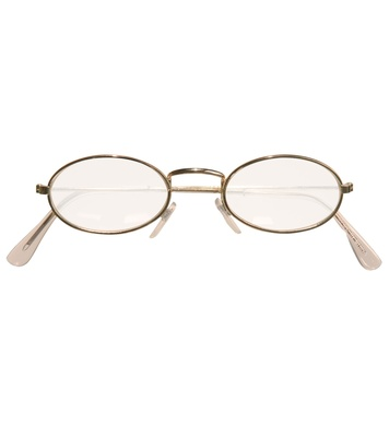 GLASSES WITH LENSES - OVAL
