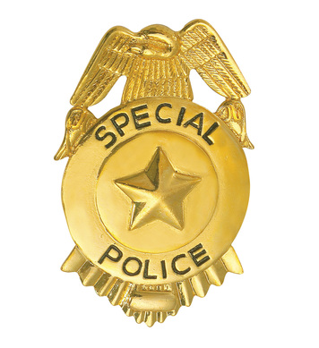 FBI BADGE METAL