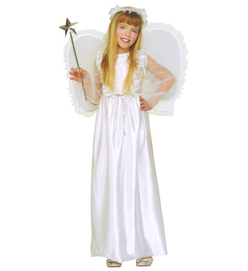 ANGEL COSTUME (dress wings halo) Childrens