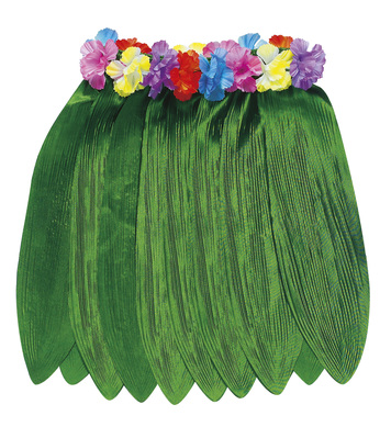 BANANA LEAF HAWAIIAN SKIRT 40cm