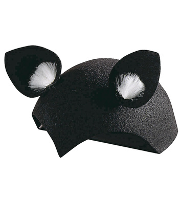 CAT CAP FELT BLACK