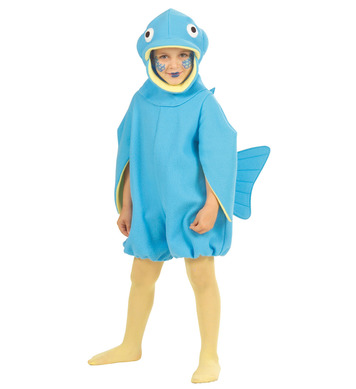 FISH JUMPSUIT (3-4yrs/4-5yrs) (jumpsuit headpiece)