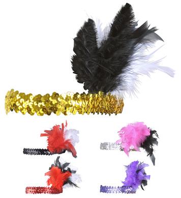 CHARLESTON HEADBAND DELUXE - 5 colours
