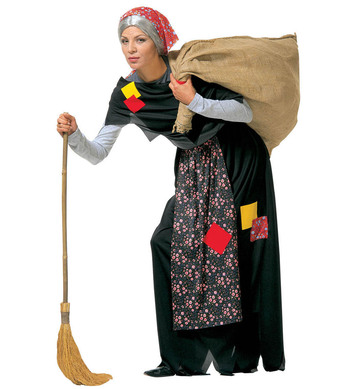 OLD WITCH COSTUME