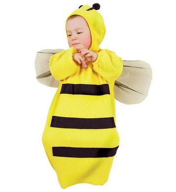 BABY BUNTING BEE - 80cm (bunting headpiece)