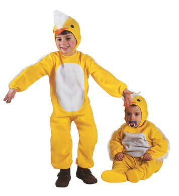 LITTLE CHICK (2-3yrs/3-4yrs) (jumpsuit headpiece)