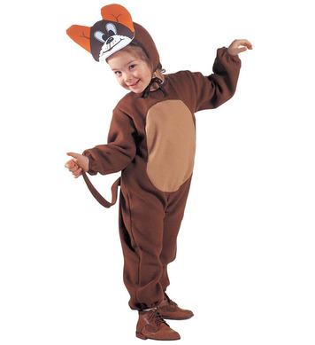 LITTLE MOUSE (2-3yrs/3-4yrs) (jumpsuit headpiece mask)