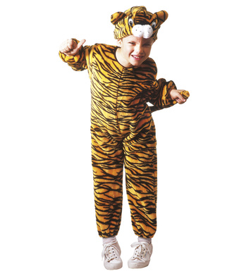 PLUSH LITTLE TIGER (3-4yrs/4-5yrs) (jumpsuit headpiece)