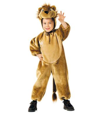 PLUSH LITTLE LION (3-4yrs/4-5yrs) (jumpsuit headpiece)
